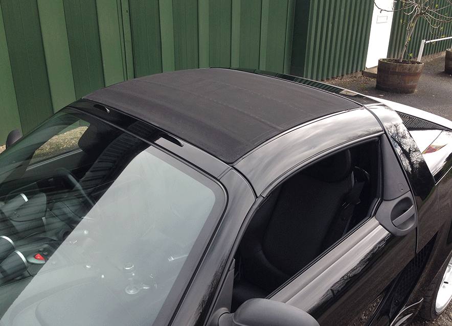 repair soft-top roof